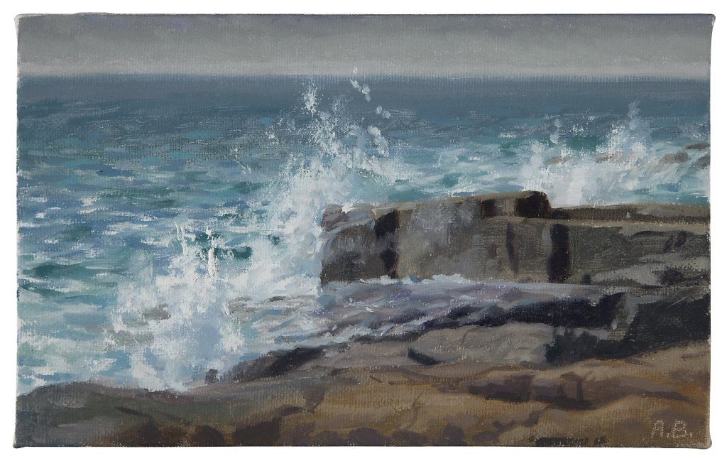 Schoodic Point Surf